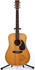 Musical Instruments:Acoustic Guitars, 1983 Martin Shenandoah D-2832 Natural Acoustic Guitar #443585...