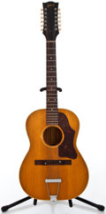 Musical Instruments:Acoustic Guitars, 1966 Gibson B 45-12-N Natural 12 String Acoustic Guitar #866715...