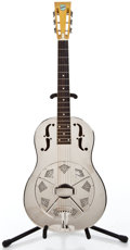 Musical Instruments:Resonator Guitars, 1998 National (Style N) Chrome Resonator Guitar #130...