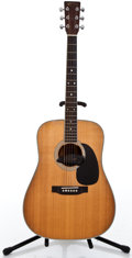 Musical Instruments:Acoustic Guitars, 1990 Martin D 35-P Natural Acoustic Electric Guitar #493350...