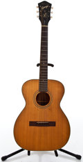Musical Instruments:Acoustic Guitars, 1960's Harmony Sovereign Natural Acoustic Guitar #F-63...