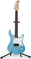 Musical Instruments:Electric Guitars, Recent Yamaha Pacifica Lake Placid Blue Solid Body Electric Guitar #HH16273...