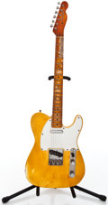 Musical Instruments:Electric Guitars, Recent Replica Fender Blonde Solid Body Electric Guitar #L01835...