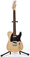 Musical Instruments:Electric Guitars, Recent Fender Copy Telecaster Blonde Solid Body Electric Guitar#49615...