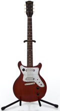 Musical Instruments:Acoustic Guitars, 1960 Gibson Les Paul Jr Cherry Faded Solid Body Electric Guitar #83725...