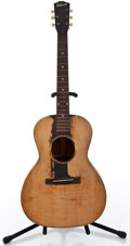 Musical Instruments:Acoustic Guitars, 1930's Gibson L-00 Black Acoustic Guitar #127076...