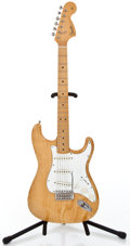 Musical Instruments:Electric Guitars, 1967 Reissue Fender 67R.I. Stratocaster Natural Solid Body ElectricGuitar #B 000575...