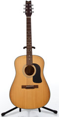 Musical Instruments:Acoustic Guitars, Recent Washburn D-12N Natural Acoustic Guitar #9002019...