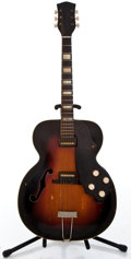 Musical Instruments:Electric Guitars, 1953 National Archtop Sunburst Archtop Electric Guitar #X19575...