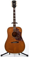 Musical Instruments:Acoustic Guitars, 1967 Gibson Hummingbird Natural Acoustic Guitar #118800...