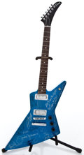 Musical Instruments:Electric Guitars, 2003 Gibson Explorer Electric Blue Solid Body Electric Guitar#00943591...