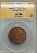 Mexico, Mexico: Republic 5 Centavos 1930 Square 0,...