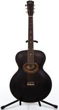 Musical Instruments:Acoustic Guitars, 1900's Gibson L Model Black Archtop Acoustic Guitar #7849...