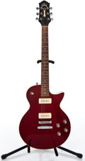 Musical Instruments:Electric Guitars, 2001 Guild Blue 90 Cherry Solid Body Electric Guitar #CL002157...