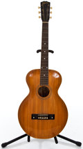 Musical Instruments:Acoustic Guitars, Early 1900's Gibson L2 Natural Archtop Acoustic Guitar #433...