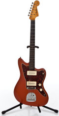 Musical Instruments:Electric Guitars, 1964 Fender Jazzmaster Refin Fiesta Solid Body Electric Guitar#L34412...