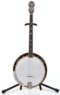 Musical Instruments:Banjos, Mandolins, & Ukes, Unknown S & R Dewick Brown Tenor Banjo #N/A...
