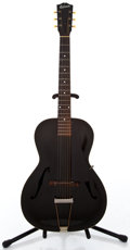Musical Instruments:Acoustic Guitars, 1930's Gibson L-30 Black Acoustic Guitar #EG-5017...