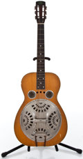 Musical Instruments:Resonator Guitars, 1930's Regal Resonator Natural Guitar ...
