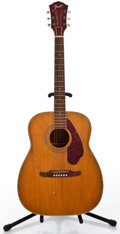 Musical Instruments:Acoustic Guitars, 1960's Fender Harmony Natural Acoustic Guitar #4308 1060...