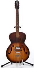 Musical Instruments:Electric Guitars, 1950's Silvertone N/A Sunburst Archtop Electric Guitar #N/A...