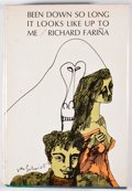 Books:First Editions, Richard Farina. Been Down So Long It Looks Like Up to Me.New York: Random House, [1966]. First edition, first p...