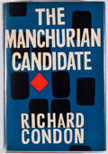 Books:First Editions, Richard Condon. The Manchurian Candidate. London: MichaelJoseph, [1960]. First British edition. Octavo. Publisher's...
