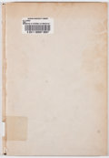 Books:First Editions, Richard Lee Mason. LIMITED. Narrative of Richard Lee Mason inthe Pioneer West 1819. New York: Chas. Fred. Heart...
