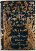 Books:Literature Pre-1900, Mary Russell Mitford. Our Village. London: Macmillan, 1893.Octavo. Publisher's binding. Illustrations by Hugh Thoms...
