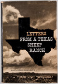 Books:First Editions, Harry James Brown [editor]. Letters From a Texas SheepRanch. Urbana: University of Illinois Press, 1959. First ...