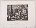 Antiques:Posters & Prints, William Hogarth, artist. Two Steel Engraved Prints From TheWorks of William Hogarth, Ca. 1861. London: London Print...(Total: 2 Items)