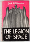 Books:First Editions, Jack Williamson. The Legion of Space. Reading: FantasyPress, 1947. First edition. Octavo. Publisher's binding a...