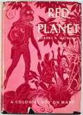 Books:First Editions, Robert A. Heinlein. Red Planet. New York: Charles Scribner'sSons, 1949. First edition, first printing. Octavo. Publ...