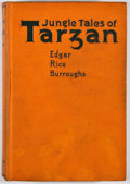 Books:First Editions, Edgar Rice Burroughs. Jungle Tales of Tarzan. Chicago: A. C.McClurg, 1919. First edition, first state. Octavo. Publ...