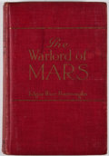 Books:First Editions, Edgar Rice Burroughs. The Warlord of Mars. Chicago: A. C.McClurg, 1919. First edition, second state. Octavo. Publis...
