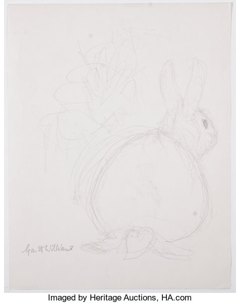 garth williams original preliminary drawings for illustrations