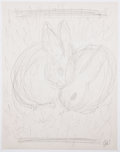 Antiques:Posters & Prints, Garth Williams. Original preliminary drawings for illustrations inThe Rabbits' Wedding, 1958. Pencil on pap... (Total: 6Items)
