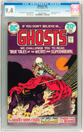Bronze Age (1970-1979):Horror, Ghosts #22 Savannah pedigree (DC, 1974) CGC NM 9.4 Cream tooff-white pages....