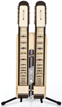 1952 National Double Neck Two-tone Lap Steel Guitar #X10409