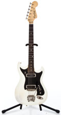 Musical Instruments:Electric Guitars, 1969 Haggstrom II White Solid Body Electric Guitar #707241...