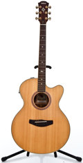 Musical Instruments:Acoustic Guitars, Recent Yamaha Compass CPX-8 Natural Acoustic Electric Guitar#01109020...