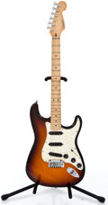 Musical Instruments:Electric Guitars, 1997 Fender Stratocaster Plus Sunburst Solid Body Electric Guitar #N7202626...