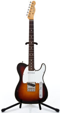 Musical Instruments:Electric Guitars, 1980's Fender Telecaster Custom Sunburst Solid Body Electric Guitar ...