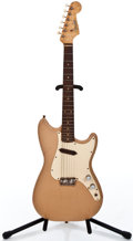 Musical Instruments:Electric Guitars, 1959 Fender Musicmaster Desert Sand Solid Body Electric Guitar #42998...