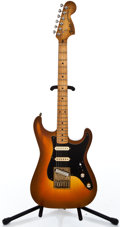 Musical Instruments:Electric Guitars, 1980's Fender Replica Stationmaster Sunburst Solid Body Electric Guitar ...