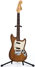 Musical Instruments:Electric Guitars, 1974 Fender Mustang Mocha Solid Body Electric Guitar #630435...