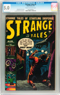 Golden Age (1938-1955):Horror, Strange Tales #6 (Atlas, 1952) CGC VG/FN 5.0 Cream to off-whitepages....