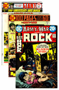 Bronze Age (1970-1979):War, Our Army at War Group (DC, 1970-77) Condition: Average FN.... (Total: 49 Comic Books)