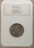 Seated Quarters, 1879 25C MS65 NGC....