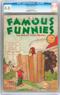 Platinum Age (1897-1937):Miscellaneous, Famous Funnies #16 (Eastern Color, 1935) CGC VG 4.0 Cream tooff-white pages....